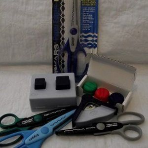 SCRAPBOOKING Tools, Scissors, Punches & Blade Cart